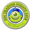 Disney Trading Night Pin - 2013 Spinner - Monsters U Mike Wazowski