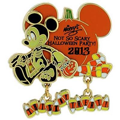 Disney Mickeyu0027s Not So Scary Halloween Party Pin   2013 Logo Dangle