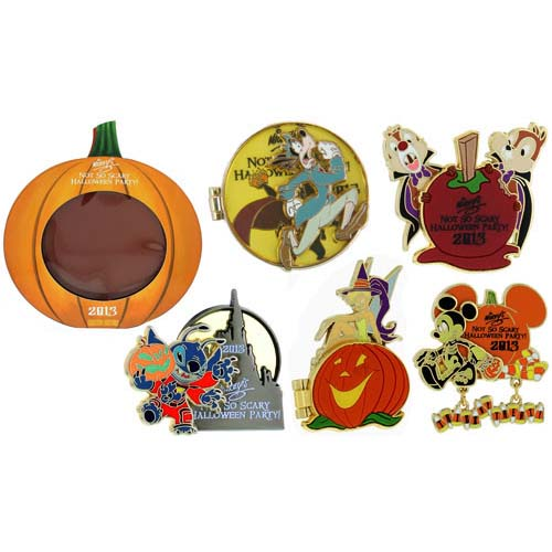 Disney Mickey's Not So Scary Halloween Party Pin - 2013 Boxed Set