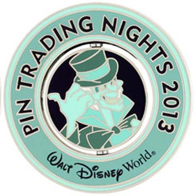 Disney Trading Night Pin - 2013 Spinner - Hitch Hiking Ghost