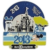 Disney 2013 Retro Art Pin - Believe in Magic - Spinner