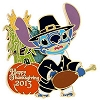 Disney Happy Thanksgiving Pin - 2013 Pilgrim Stitch