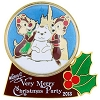 Disney Very Merry Christmas Party Pin - 2013 Chip & Dale Snowglobe