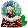 Disney Very Merry Christmas Party Pin - 2013 Donald Duck Snowglobe