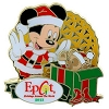 Disney Holidays Around The World Pin - 2013 Santa Mickey and Duffy