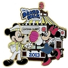 Disney Gingerbread House Pin - 2013 Boardwalk Resort Mickey & Minnie