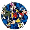 Disney Annual Pin - 2014 Logo - Mickey and Friends - Spinner