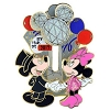 Disney New Year Pin - 2013 2014 - Mickey & Minnie Mouse Icon Slider