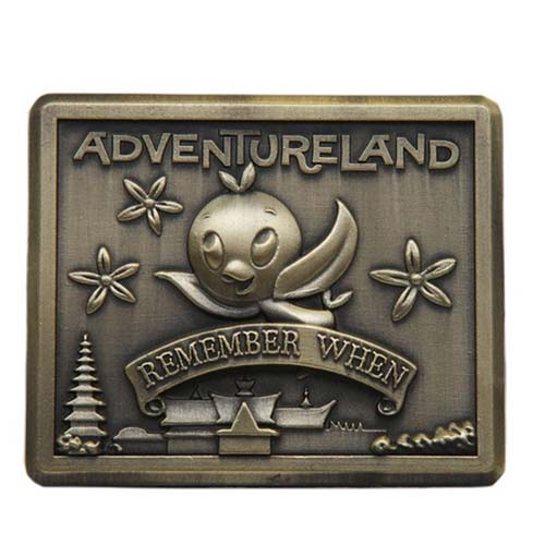 Disney Remember When Pin - Adventureland