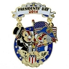 Disney Presidents Day Pin - 2014 Chip and Dale
