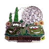 Disney Flower & Garden Festival Pin - 2014 Mater and McQueen