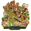 Disney Flower & Garden Festival Pin - 2014 Peter Pan and Hook