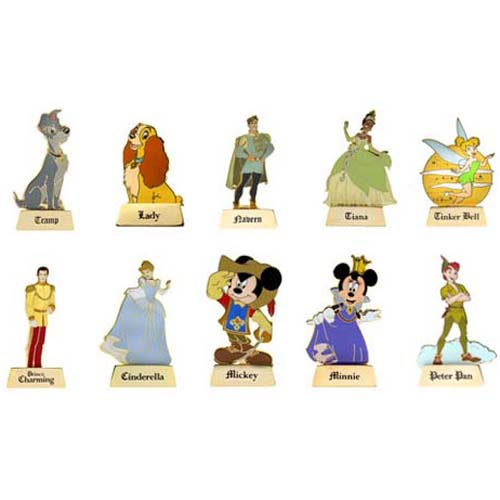 Disney Mystery Pin - Once Upon a Time - Complete 10 Pin Set