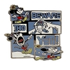 Disney Yeti Pin - Mickey Mouse - Beware of the Yeti