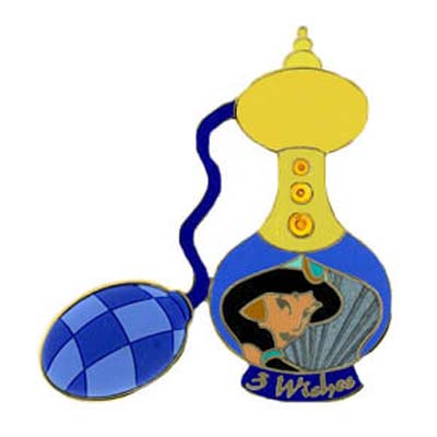 Disney Eau De Magique Pin - Perfume Bottle Jasmine - Aladdin