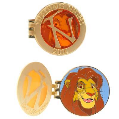 Disney Imagination Gala Pin Trading Night Simba