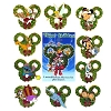 Disney Mystery Pin - 2014 Christmas Wreaths - Complete