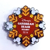 Disney Resort Holidays Pin - 2014 Caribbean Beach Resort - Pluto