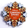 Disney Resort Holidays Pin - 2014 Coronado Springs Resort - Donald