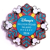 Disney Resort Holidays Pin - 2014 Hilton Head - Shadow