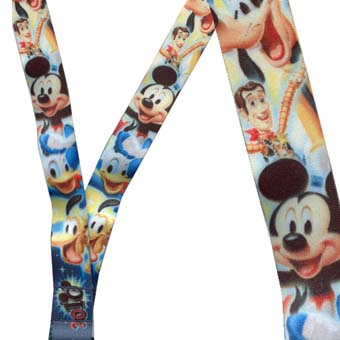 Disney Lanyard - 2010 Mickey and Friends