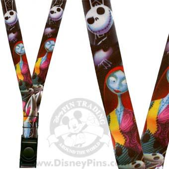 Your Wdw Store Disney Lanyard Jack Skellington Sally