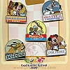Disney Carded Pin Set - Food & Wine Festival