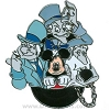 Disney Haunted Mansion Pin - Mickey and Hitchhiking Ghosts