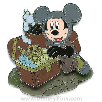 Disney Mickey Pin - 20,000 Leagues Under the Sea