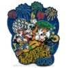Disney Jumbo Pin - Happy New Year 2008