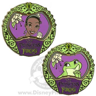 Disney Princess and the Frog Pin - Spinner