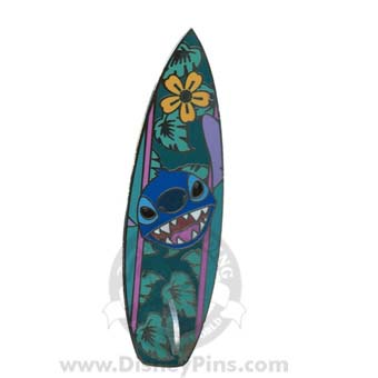 Your Wdw Store Disney Stitch Pin Surfboard