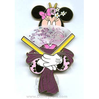 Disney Jumbo Pin - Featured Artist Collection - A Minnie Fan!