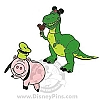 Disney Toy Story Pin - Rex and Hamm