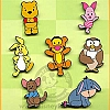 Disney Cute Pin Collection - Winnie-The-Pooh and Friends