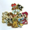 Disney Jumbo Pin - Pirates of the Caribbean - Disney Characters