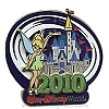 Disney Annual Pin - 2010 Cinderella Castle - Tinker Bell