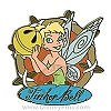 Disney Gold Card Pin - Fairies - Tinker Bell