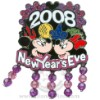 Disney New Year's Eve Pin - Mickey and Minnie