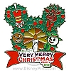 Disney Very Merry Christmas Party Pin - 2009 Logo
