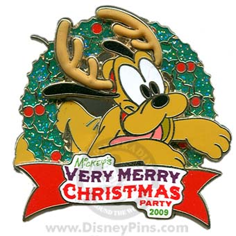 DISNEY MICKEY MOUSE MICKEY/'S VERY MERRY CHRISTMAS PARTY 2009 PLATE