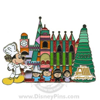Disney Christmas Pin - Gingerbread House 2009 - Contemporary Resort