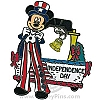 Disney Independence Day Pin - Mickey Mouse 2009