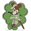 Disney Pin - St. Patrick's Day - Mickey with Clover