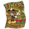 Disney Cinco De Mayo Pin - 2009 - Mickey Mouse