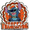 Disney Happy Thanksgiving Pin - 2009 Stitch