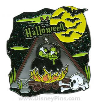 Disney Halloween Pin - 2009 - Cauldron