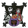 Disney Not So Scary Halloween Party Pin - 2009 - Jack and Sally