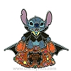 Disney Not So Scary Halloween Party Pin - 2009 - Stitch As Vampire