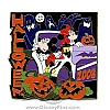 Disney Halloween 2008 Pin World of Disney New York Mickey Minnie Mouse